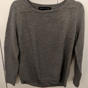 French Connection Grey Sweater (S)